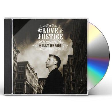 Billy Bragg MR. LOVE & JUSTICE CD