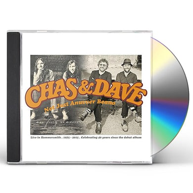 Chas & Dave NOT JUST ANUVVER BEANO (CD+DVD PAL/REGION 2) CD