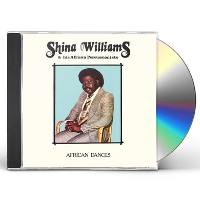 Shina Williams & His African Percussionists AFRICAN DANCES CD