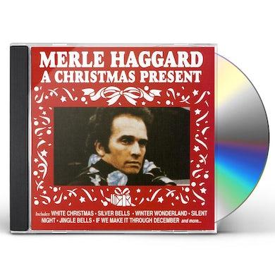 Merle Haggard CHRISTMAS PRESENT CD