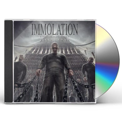 Immolation KINGDOM OF CONSPIRACY CD
