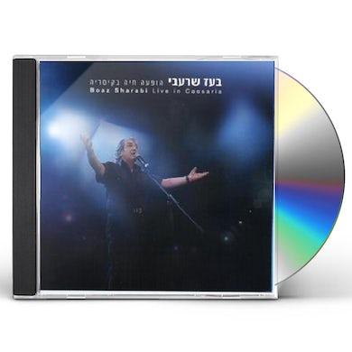Boaz Shar'abi LIVE IN CAESARIA CD