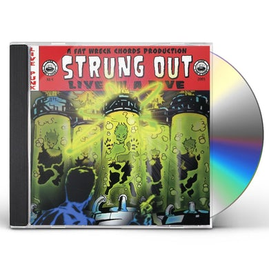 Strung Out LIVE IN A DIVE CD
