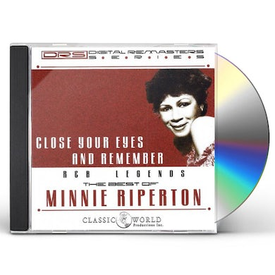 Minnie Riperton Close Your Eyes And Remember: The Best Of CD