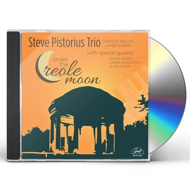 Steve Pistorious UNDER THE CREOLE MOON CD