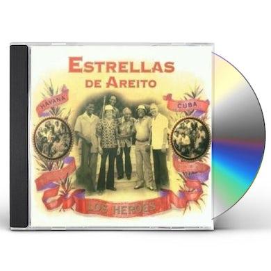 Estrellas de Areito LOS HEROES CD