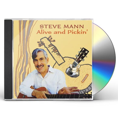 Steve Mann ALIVE & PICKIN CD