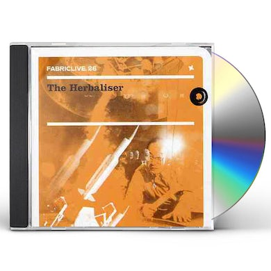 The Herbaliser FABRIC LIVE 26 CD