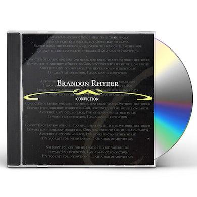 Brandon Rhyder CONVICTION CD