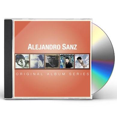 Alejandro Sanz ORIGINAL ALBUM SERIES CD