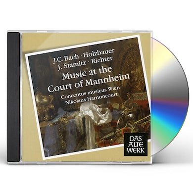 Nikolaus Harnoncourt MUSIC AT THE COURT OF MANNHEIM CD