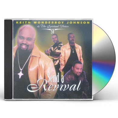 Keith Wonderboy Johnson SEND A REVIVAL CD