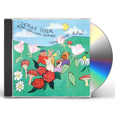Jerry Paper TOON TIME RAW CD