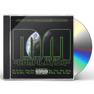 MIDDLE OF THE MAP COMPILATION CD