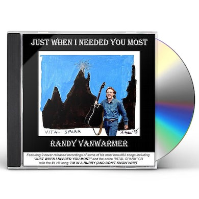 Randy Vanwarmer JUST WHEN I NEEDED YOU MOST CD