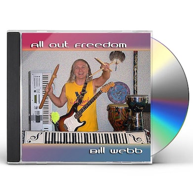 Bill Webb ALL OUT FREEDOM CD