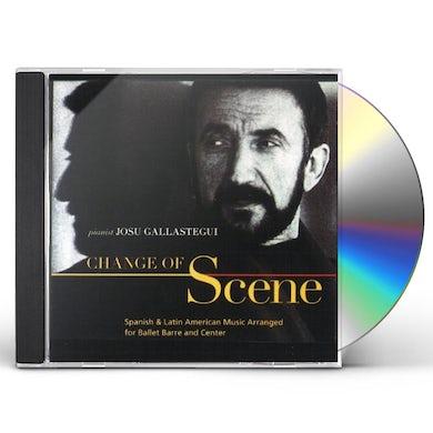 Josu Gallastegui CHANGE OF SCENE: SPANISH & LATIN AMERICAN MUSIC AR CD