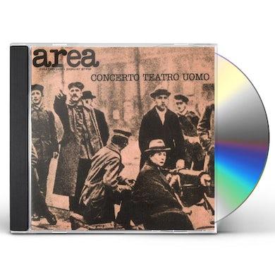 Area CONCERTO TEATRO UOMO (LIVE 1977) CD