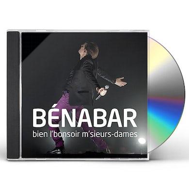 Benabar BIEN L'BONSOIR M'SIEURS-DAMES CD