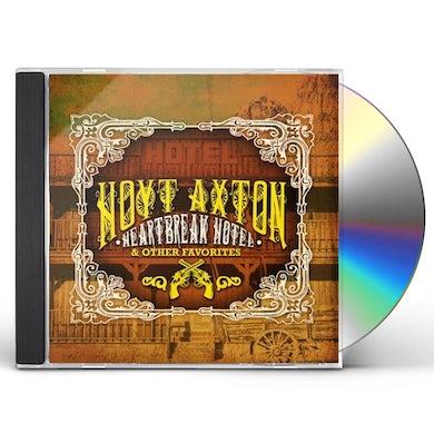 Hoyt Axton HEARTBREAK HOTEL & OTHER FAVORITES CD