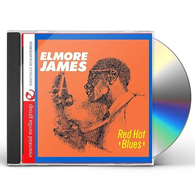 Elmore James RED HOT BLUES CD