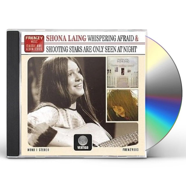 Shona Laing WHISPERING AFRAID & SHOOTING STARS ARE ONLY SEEN CD