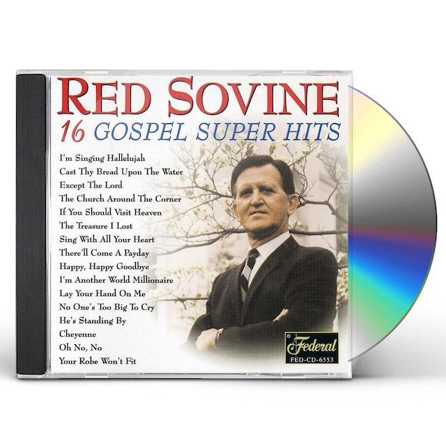 Red Sovine 16 GOSPEL SUPER HITS CD