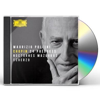 Maurizio Pollini CHOPIN: 24 PRELUDES / NOCTURNES / MAZURKAS CD