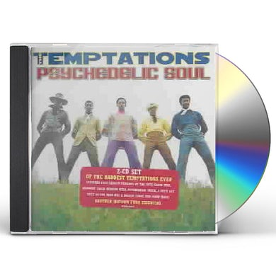 The Temptations PSYCHEDELIC SOUL CD