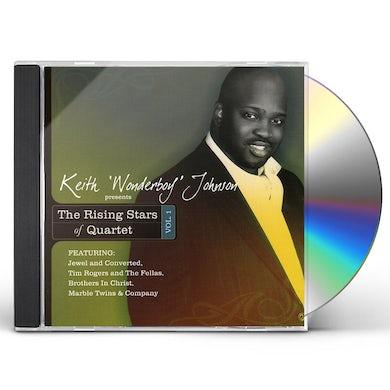 Keith Wonderboy Johnson RISING STARS OF QUARTET 1 CD