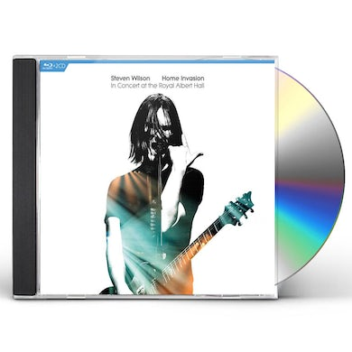 Steven Wilson Home Invasion: In Concert At The Royal Albert Hall (2 CD/Blu-ray) CD
