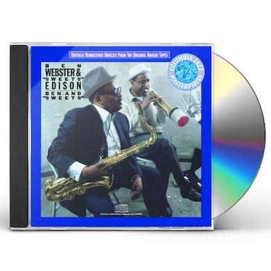 Ben Webster BEN & SWEETS CD