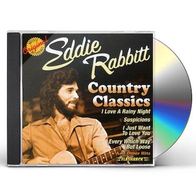Eddie Rabbitt COUNTRY CLASSICS CD