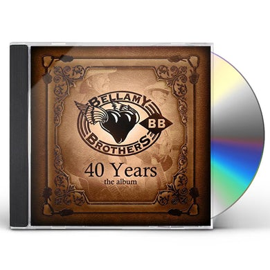 Bellamy Brothers 40 YEARS CD