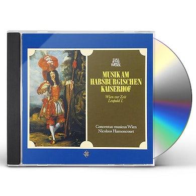 Nikolaus Harnoncourt MUSIC AT THE HABSBURG COURT CD