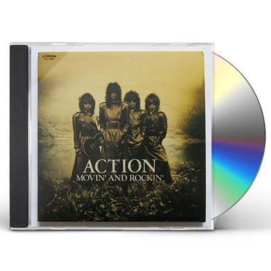 Action MOVIN & ROCKIN CD