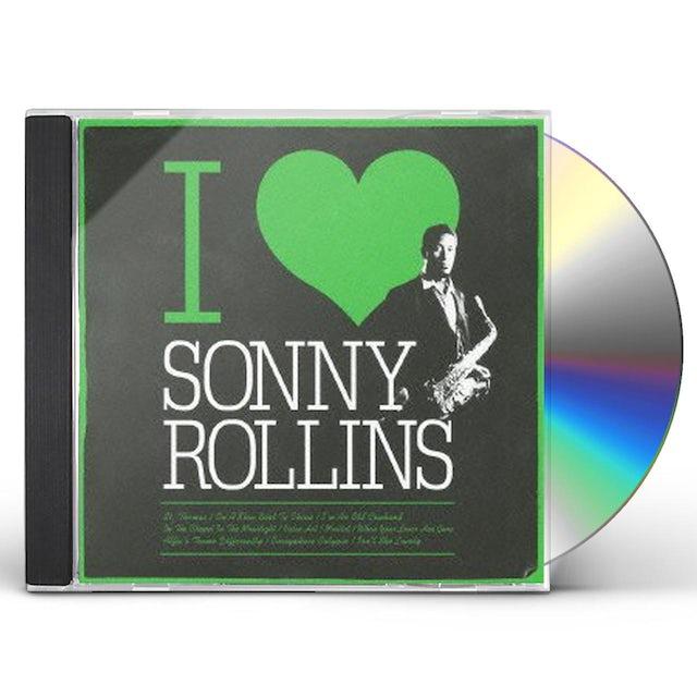Sonny Rollins I LOVE CD
