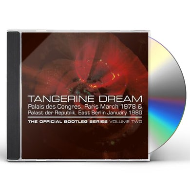 Tangerine Dream OFFICIAL BOOTLEG SERIES VOL 2 CD