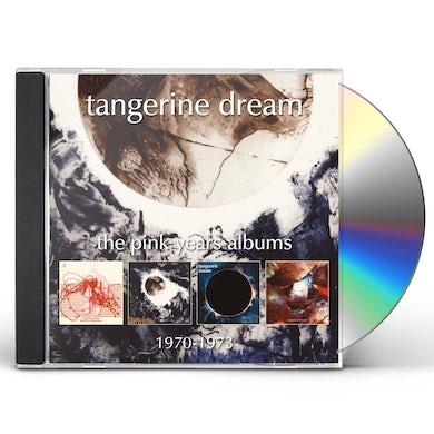 Tangerine Dream PINK YEARS ALBUMS 1970-1973 CD