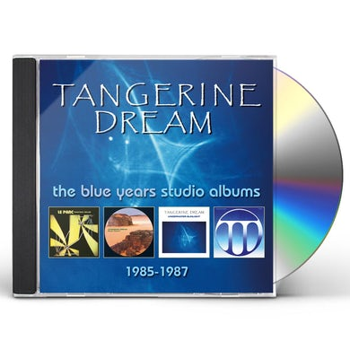 Tangerine Dream BLUE YEARS STUDIO ALBUMS 1985-1987 CD