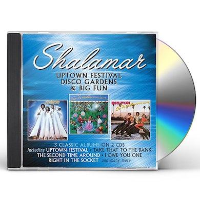 Shalamar UPTOWN FESTIVAL / DISCO GARDENS / BIG FUN CD