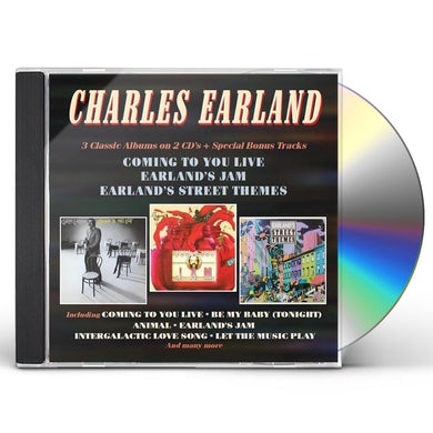 Charles Earland COMING TO YOU LIVE / EARLAND'S JAM / EARLAND'S CD