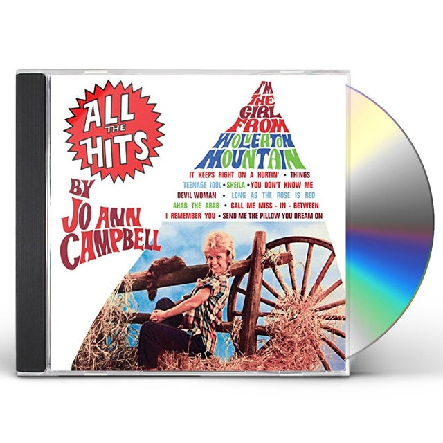 Jo Ann Campbell ALL THE HITS CD
