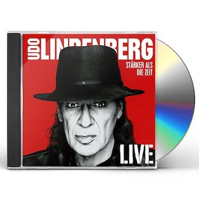 Udo Lindenberg STARKER ALS DIE ZEIT LIVE CD