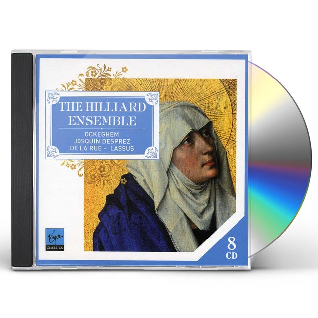 Hilliard Ensemble FRANCO-FLEMISH MASTERWORKS CD