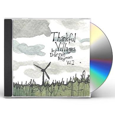 Darren Hayman THANKFUL VILLAGES VOL 2 CD