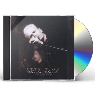Attrition HERETIC ANGELS LIVE IN THE USA CD