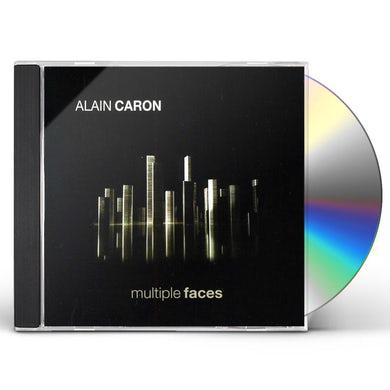 Alain Caron MULTIPLE FACES CD