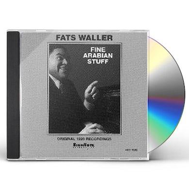 Fats Waller FINE ARABIAN STUFF CD