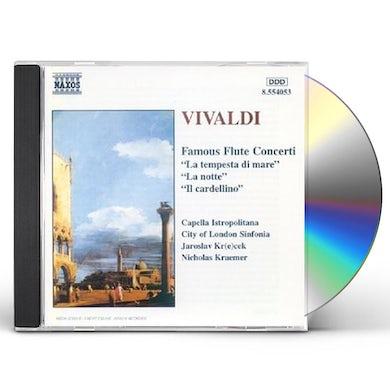 Vivaldi FAMOUS FLUTE CONCERTOS CD
